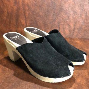 NEW SVEN Open Toe Clogs